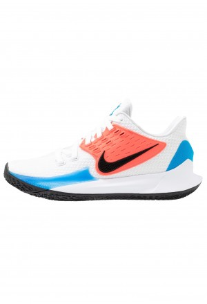 Nike KYRIE LOW 2 - Basketbalschoenen white/black/blue hero/flash crimsonNIKE202902