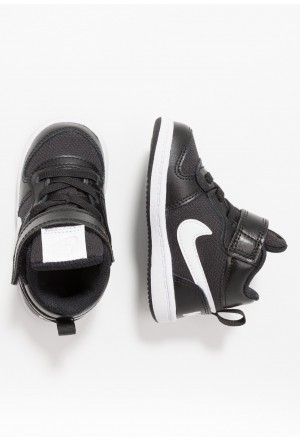 Nike COURT BOROUGH MID - Sneakers hoog black/whiteNIKE303303