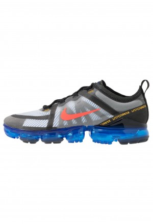 Nike AIR VAPORMAX 2019 - Sneakers laag black/bright crimson/hyper blue/platinum tint/university goldNIKE202621