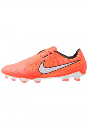 Nike PHANTOM ELITE FG - Voetbalschoenen met kunststof noppen bright mango/white/orange pulse/anthraciteNIKE202972