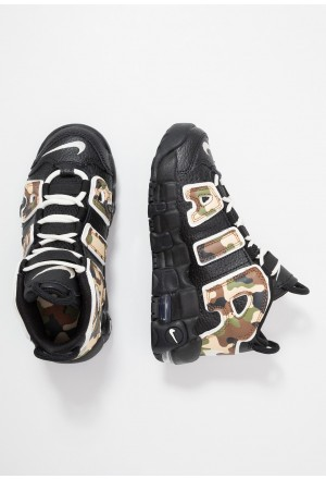 Nike AIR MORE UPTEMPO QS - Sneakers hoog blackNIKE303487