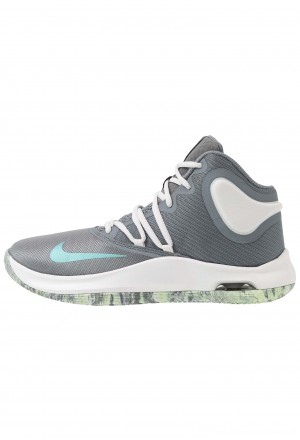 Nike AIR VERSITILE IV - Basketbalschoenen cool grey/dark grey/platinum tint/lab greenNIKE202840