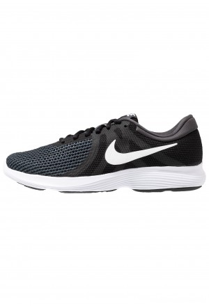 Nike REVOLUTION - Trail hardloopschoenen black/white/antraciteNIKE202763