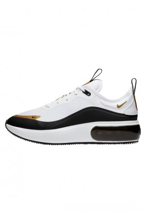 Nike AIR MAX DIA - Sneakers laag white/metallic gold/pure platinum/blackNIKE101513