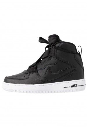 Nike FORCE 1 HIGHNESS - Sneakers hoog black/whiteNIKE303352
