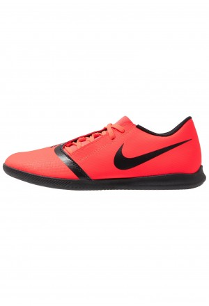 Nike PHANTOM CLUB IC - Zaalvoetbalschoenen bright crimson/black/metallic silverNIKE203154