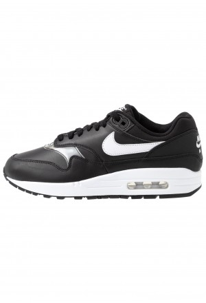 Nike AIR MAX 1 - Sneakers laag black/whiteNIKE101563