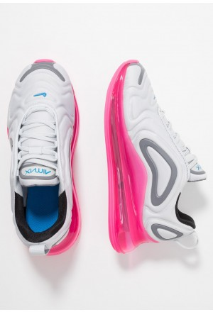 Nike AIR MAX 720 - Sneakers laag pure platinum/photo blue/pink blast/gunsmokeNIKE303391