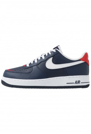Nike AIR FORCE 1 07 LV8 - Sneakers laag obsidian/white/university redNIKE202426