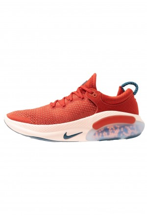 Nike JOYRIDE RUN - Hardloopschoenen neutraal cinnabar/blue force/crimson tint/aurora green/orange pulse/terra blushNIKE101741