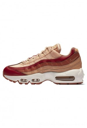 Nike AIR MAX - Sneakers laag team crimson/rose gold/summit white/dusty peachNIKE101492