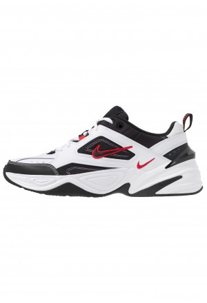Nike M2K TEKNO - Sneakers laag white/black/university redNIKE202376
