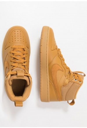 Nike COURT BOROUGH MID  - Sneakers hoog wheat/medium brownNIKE303264