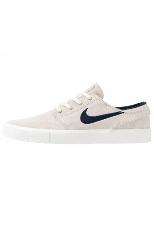 Nike SB ZOOM JANOSKI - Sneakers laag summit white/obsidian/team red/light brownNIKE202283
