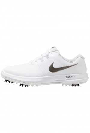 Nike Golf AIR ZOOM VICTORY - Golfschoenen white/metallic pewter/vast grey/platinum tintNIKE203094