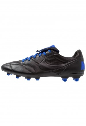 Nike THE PREMIER II FG - Voetbalschoenen met kunststof noppen black/racer blueNIKE202824