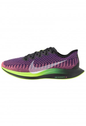 Nike ZOOM PEGASUS TURBO 2 WILD RUN - Hardloopschoenen competitie black/green/orange/purpleNIKE202788