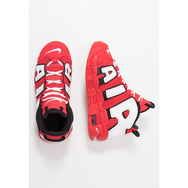 Nike AIR MORE UPTEMPO QS - Sneakers hoog red/whiteNIKE303507