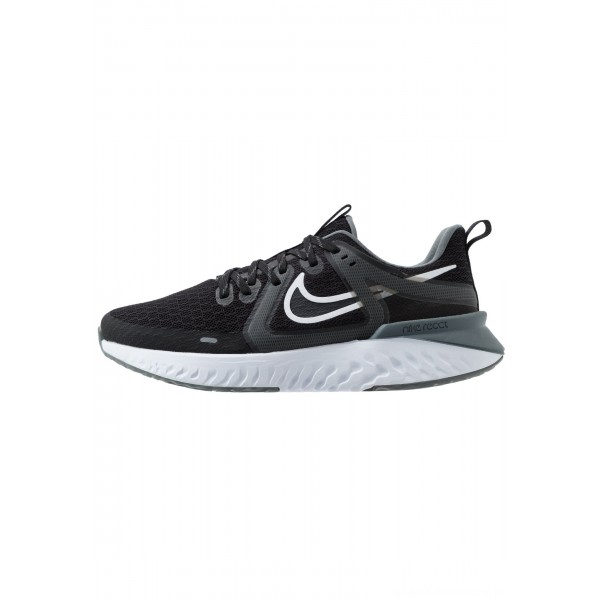 Nike LEGEND REACT  - Hardloopschoenen neutraal black/white/cool grey/metalliccool greyNIKE101666
