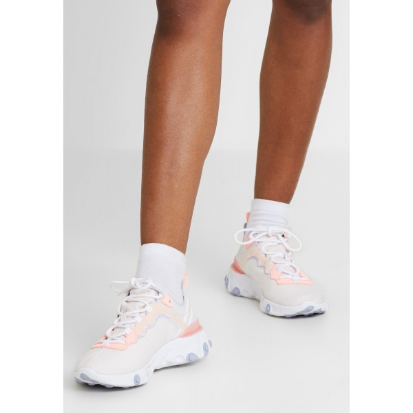 Nike REACT 55 - Sneakers laag pale pink/washed coral/oxygen purpleNIKE101350