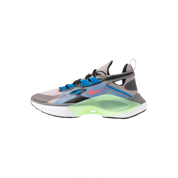 Nike SIGNAL D/MS/X - Sneakers laag pumice/racer pink/black/dark grey/photo blue/vapor greenNIKE101439