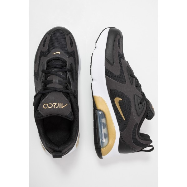Nike AIR MAX 200 - Sneakers laag black/metallic gold/anthraciteNIKE303157
