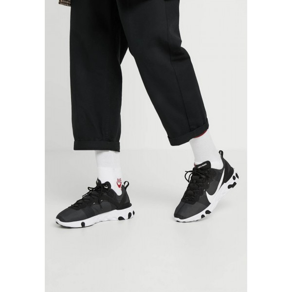 Nike REACT 55 - Sneakers laag black/whiteNIKE202556