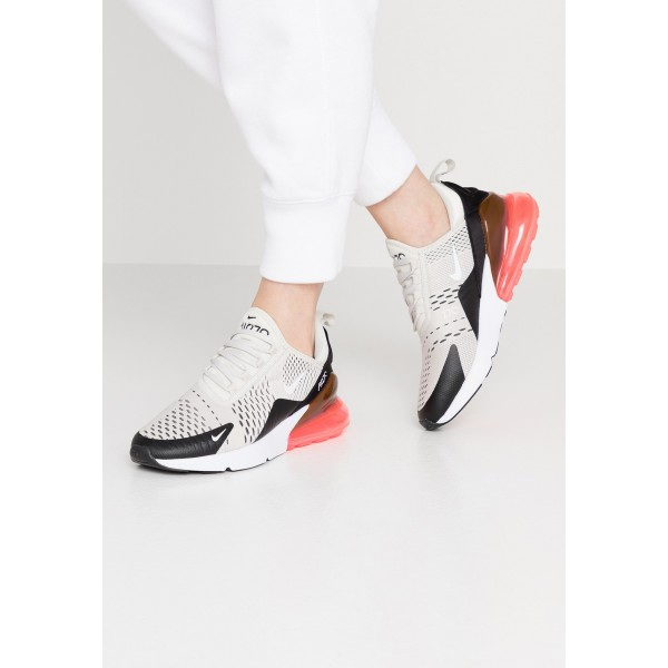 Nike AIR MAX 270 - Sneakers laag black/light bone/hot punch whiteNIKE101319