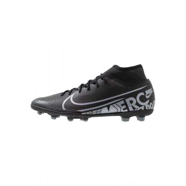 Nike MERCURIAL 7 CLUB MG - Voetbalschoenen met metalen noppen black/metallic cool grey/cool greyNIKE202816