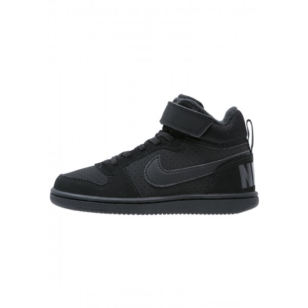 Nike COURT BOROUGH  - Sneakers hoog blackNIKE303387