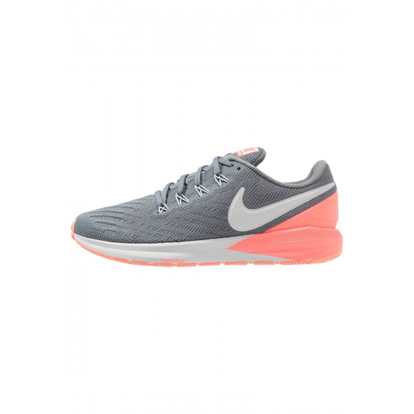 Nike AIR ZOOM STRUCTURE  - Stabiliteit hardloopschoenen cool grey/pure platinum/lava glow/crimson tintNIKE101665
