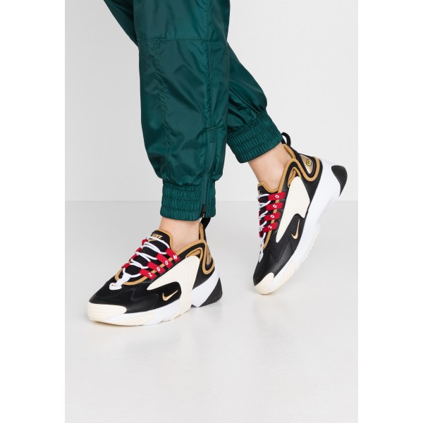 Nike Sneakers laag black/metallic gold/white/sail/gym redNIKE101308