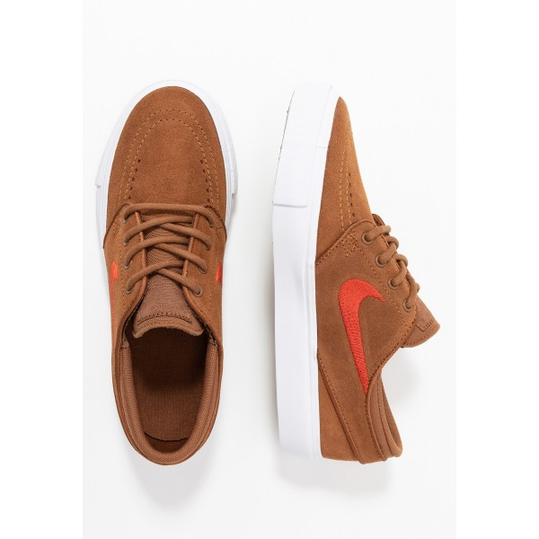 Nike SB STEFAN JANOSKI - Sneakers laag light british tan/mystic red/white/light brownNIKE303433