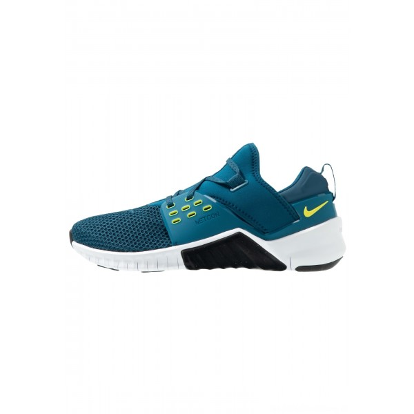 Nike FREE METCON 2 - Loopschoen neutraal blue force/black/dynamic yellow/whiteNIKE202794