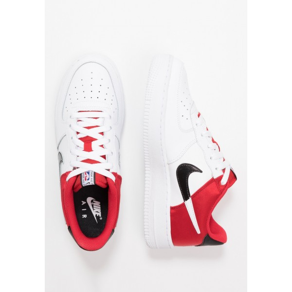 Nike AIR FORCE 1  - Sneakers laag - university red/white/black university red/white/blackNIKE303410