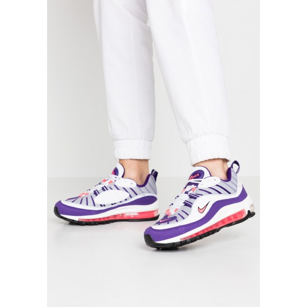 Nike AIR MAX 98 - Sneakers laag white/racer pink/reflect silver/blackNIKE101260