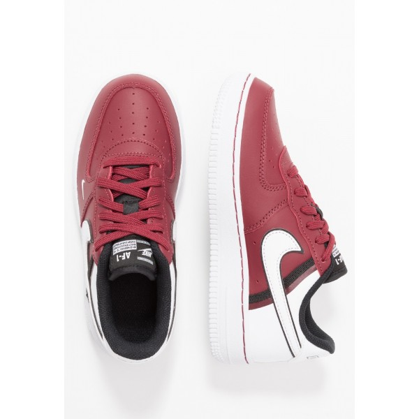 Nike FORCE 1 LV8  - Sneakers laag team red/white/blackNIKE303434