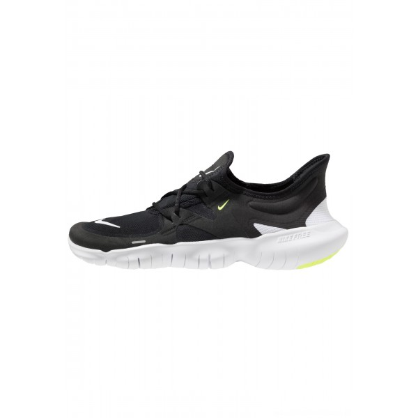 Nike FREE RN - Loopschoen neutraal black/white/anthracite/voltNIKE202844
