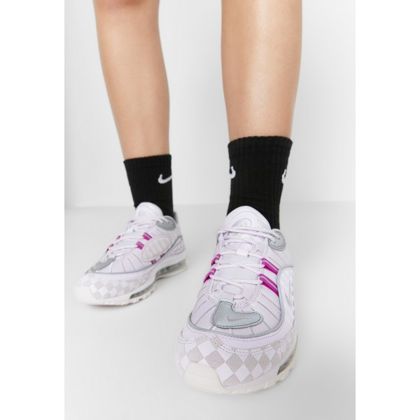 Nike AIR MAX 98 - Sneakers laag barely grape/hyper violet/electric green/metallic silverNIKE101406