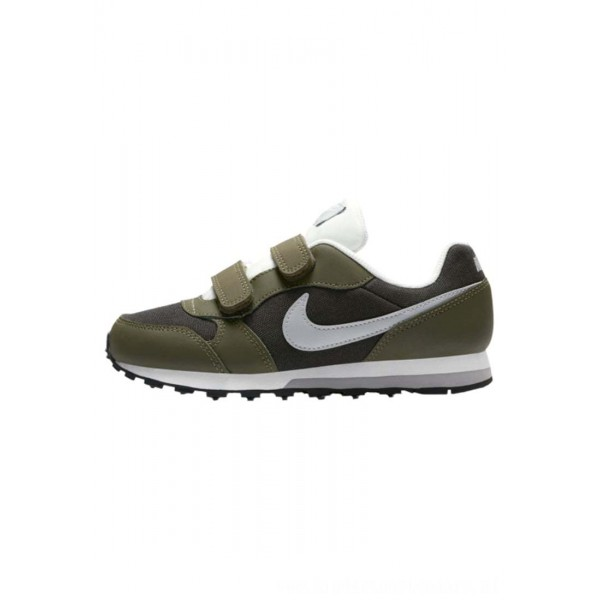 Nike MD RUNNER 2 - Sneakers laag sequoia/olive canvas/sail/wolf greyNIKE303237