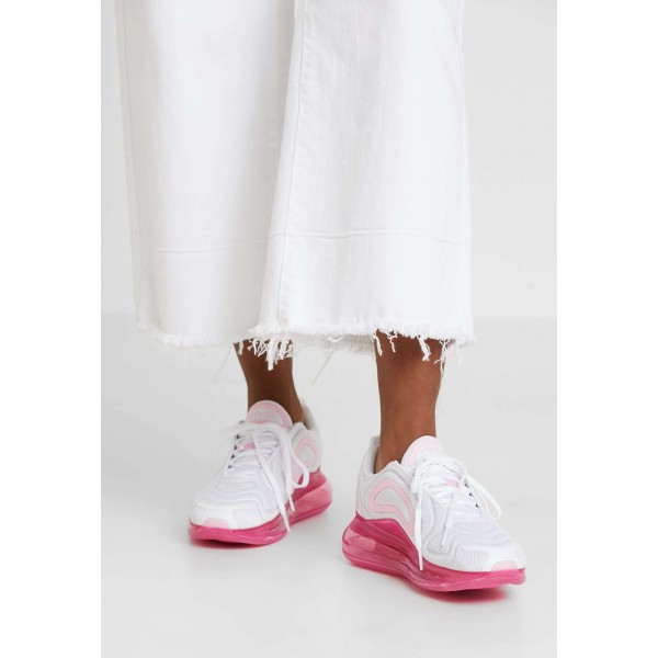 Nike AIR MAX 720 - Sneakers laag white/pink rise/laser fuchsiaNIKE101374