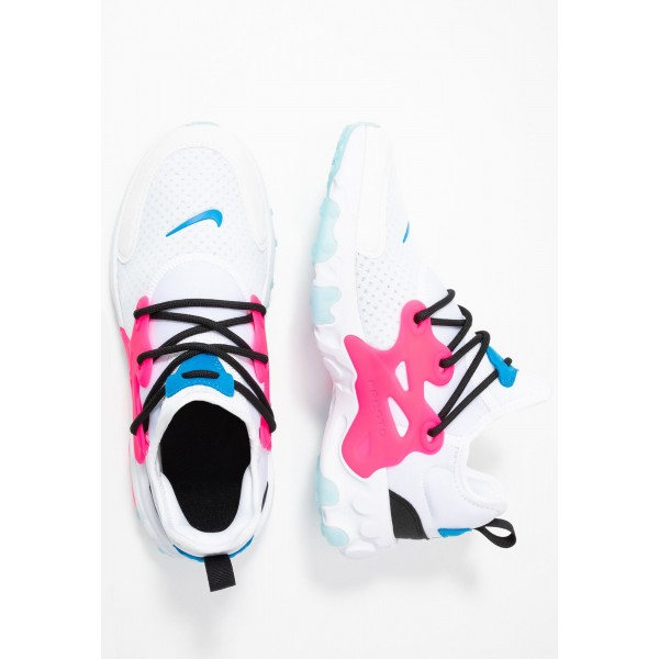 Nike REACT PRESTO - Sneakers laag white/hyper pink/photo blue/blackNIKE303319