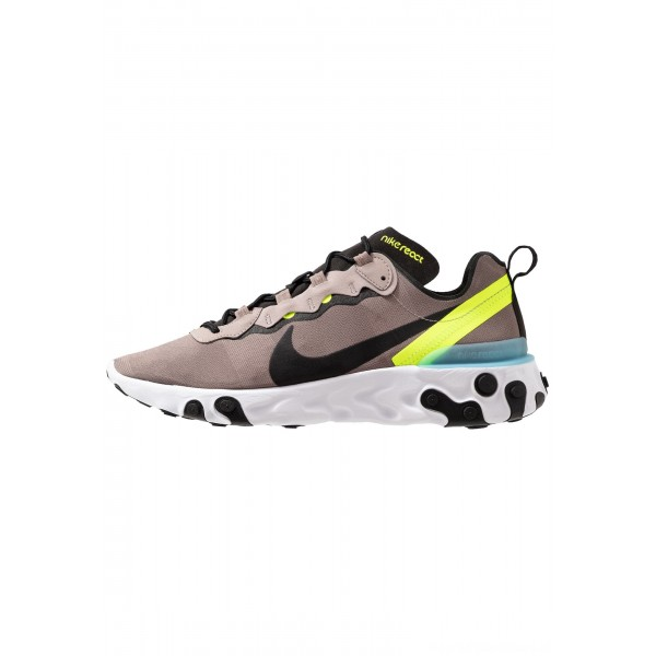Nike REACT 55 - Sneakers laag pumice/black/white/blue chill/voltNIKE202559