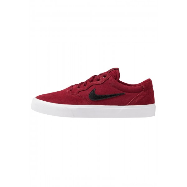 Nike SB CHRON SLR - Sneakers laag team red/black/light brownNIKE202237