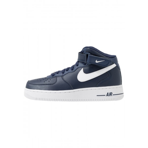 Nike AIR FORCE 1 MID '07 - Sneakers hoog midnight navy/whiteNIKE202280