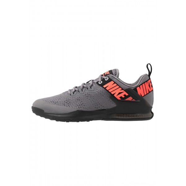 Nike ZOOM DOMINATION TR 2 - Sportschoenen gunsmoke/flash crimson/blackNIKE202724
