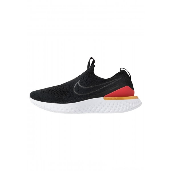 Nike EPIC PHANTOM REACT - Hardloopschoenen neutraal black/university red/metallic goldNIKE101736