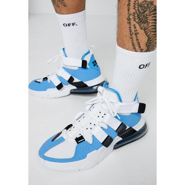 Nike AIR EDGE 270 - Sneakers hoog universe blue/black/whiteNIKE202357
