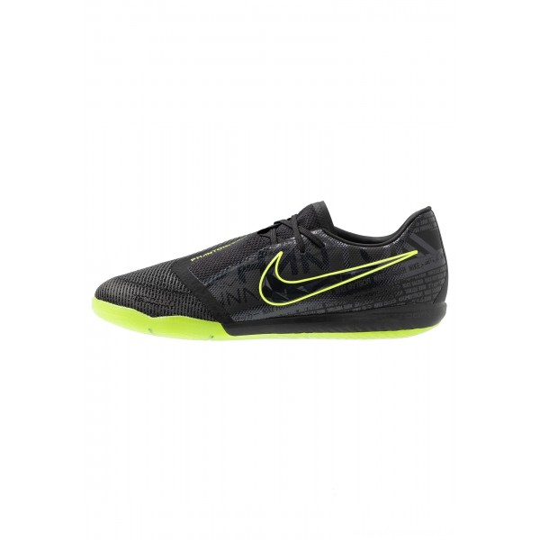 Nike ZOOM PHANTOM PRO IC - Zaalvoetbalschoenen black/voltNIKE202965