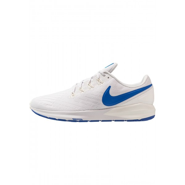 Nike AIR ZOOM STRUCTURE  - Stabiliteit hardloopschoenen vast grey/game royal/sail/blue lagoonNIKE202858